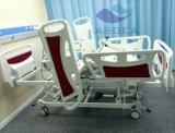 Cama de hospital eléctrica de las Cinco-Funciones para los pacientes paralizados