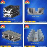 Anodisierter Aluminiumprofil-Kühlkörper für kontrollierbares Silikon