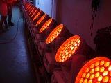 Luz principal movente da lavagem da parede do diodo emissor de luz do estágio