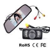 Systeem van de Monitor van de Spiegel van de auto Rearview met de MiniCamera van IRL