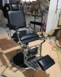 Herrenfriseur stationiert Herrenfriseur-Stuhl-Herrenfriseur-System-eindeutigen Form-Stuhl