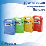 Whc 세륨 증명서 5W 휴대용 태양 에너지 장비