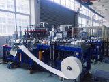 Palomitas taza de papel que hace la máquina