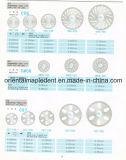 De tand Materialen van het Laboratorium/de TandSchijf van de Diamant voor het Oppoetsen