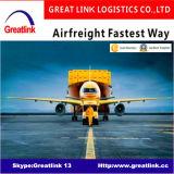 De betrouwbare Vrachtvervoerder van de Lucht: De Dienst van het Vervoer van de Luchtvracht van Shenzhen/Guangzhou/Shanghai/Xiamen/Ningbo/Dalian aan San Paulo/Rio de Janeiro/Brasilia/Recife