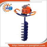 Eixo helicoidal de terra 68cc Digger do furo de borne com 100mm; bits de 150mm & de 200mm