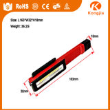 Torcia elettrica della torcia LED dell'indicatore luminoso 1W della penna della PANNOCCHIA dell'indicatore luminoso del lavoro del corpo LED dell'ABS