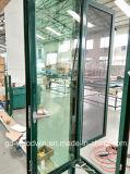 Ventana de aluminio de la rotura termal caliente del vendedor de Woodwin con la red de mosquito