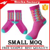 GroßhandelsArgyle Rosa-komprimierende Socken kundenspezifisch