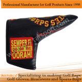 Headcover刺繍PUのゴルフ刃の運搬人