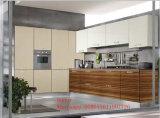 Armadi da cucina rossi di legno moderni (personalizzati)