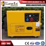 генераторы 5kw 6kVA малые трехфазные молчком тепловозные