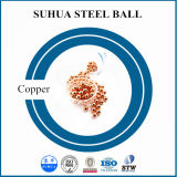 1mmの貴重な銅の球の円形の金属球