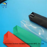 L'adesivo doppio ignifugo elettrico del tubo dello Shrink di calore della parete ha allineato