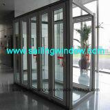 Алюминиевая дверь - дверь складчатости 56 серий
