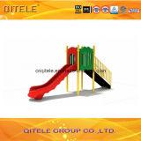 89mm гальванизированное детей скольжения простоты столба оборудование спортивной площадки одиночных прямых напольное