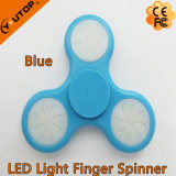 2017 giradores claros da mão do Spinner/do dedo do diodo emissor de luz do brinquedo quente/girador da inquietação