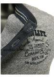 T-shirt de coton d'affaires pour des hommes entre deux âges avec la teinture de filé