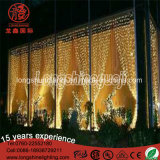 Noël décoratif extérieur de mariage de lumière de rideau en lampe de l'interpréteur de commandes interactif DEL de qualité
