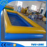 Piscina inflable modificada para requisitos particulares al aire libre de interior del encerado del PVC