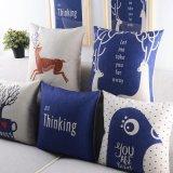 Sofà di tela del cotone economico con i cuscini per i sofà che decorano