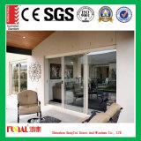 Porte en aluminium glaçante isolée Inférieure-e de qualité