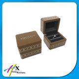 熱い販売の贅沢なプラスチック宝石箱はカスタムロゴを受け入れる