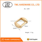Light Gold Zinc Alloy Strap Adjuster Buckle