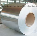 Bobina de acero galvanizada estrecha material con poco carbono