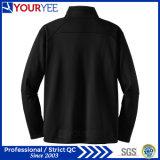 Куртка Microfleece полиэфира пуловера застежка-молнии высокого качества допустимый половинная (YYLR114)