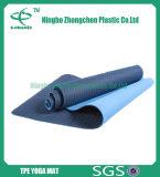 Stuoia di yoga del TPE di doppi strati per l'esercitazione, stampa personalizzata