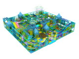 OpenluchtSpeelplaats van de School van de Apparatuur van de speelplaats de Dia Gebruikte