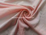 Tela escocesa rosada 100% del poliester buen Handfeeling para la tela de la ropa interior (HD2123288)