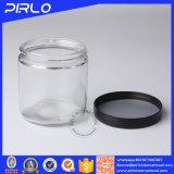 (110g 180g 300g 450g 650g) mémoire en verre hermétique en verre de nourriture de goût clair et propre