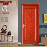 Puertas interiores de madera sólidas usadas de la chapa del MDF (GSP8-012)