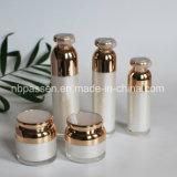 ハイエンド装飾的な包装30/50gアクリルのクリーム色の瓶(PPC-NEW-122)