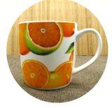 Logo promotionnel bon marché Tasse personnalisée en impression en céramique 11 oz