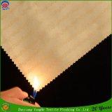 Tissu imperméable à l'eau de rideau tissé par textile à la maison en abat-jour de rouleau d'arrêt total de franc de polyester