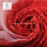 ビスコーススカーフの勾配のScarf Factoryパターンによって印刷される空の方法女性
