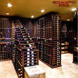 Het Europese Rek van de Wijn van het Ontwerp Stevige Houten (GSP9-047)