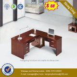 L形のオフィス表のメラミンオフィス用家具(HX-K83)