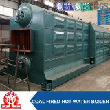 Doppio carbone del combustibile dello scaldacqua della griglia della catena di pressione bassa del timpano