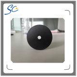 Etiqueta pasiva de la patrulla impermeable redonda RFID del orificio de ISO14443A 30m m