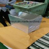 Алюминиевый лист с пленкой или бумагой