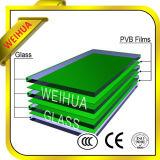 Precio templado seguridad del vidrio laminado para construir con Ce/ISO9001