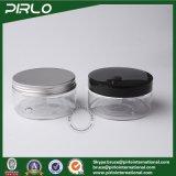 150g 200g transparentes Haustier-Glas mit Plastik-oder Metallschrauben-Kappen-Nahrungsmittelspeicher-Glas-kosmetisches Schablonen-Glas-Multifunktionsplastikglas-Feld-Haustier-Plastik Jarcapacit
