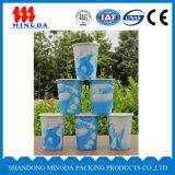 使い捨て可能な紙コップ、飲み物のPeparの熱いコップ