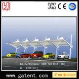 Q235 galvanizan la tienda de la cortina del coche del estiramiento de la estructura de acero