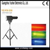 O equipamento leve 360W do estágio segue o projector