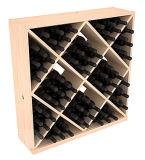 포도 수확 포도주 선반 화랑 상업적인 포도주 입방체 벽돌쌓기 24 및 82의 병 홀더